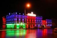 Наружное освещение: архитектурное освещение зданий и фасадов в г.Красноярск